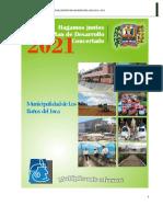 Plan de Desarrollo Concertado b.i. 2021