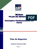 Clase 1 a 7 Plan de Negocios AIEP