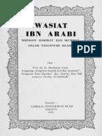 Wasiat Ibn Arabi