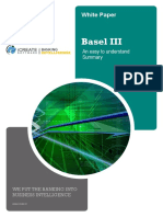 Basel III - An Easy to Understand Summary