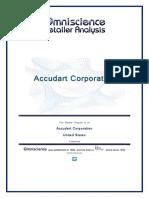 Accudart Corporation United States