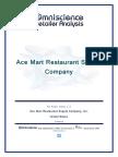 Ace Mart Restaurant Supply Company United States
