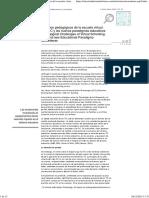 Desafíos Pedagógicos de La Escuela Virtual._br_ Las TIC y Los Nuevos Paradigmas Educativos_br_Pedagogical Challenges of Virtual Schooling