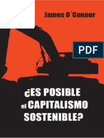Es posible el capitalismo sostenible (James O'Connor)