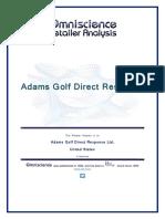 Adams Golf Direct Response United States