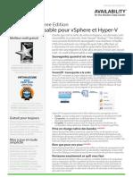 Veeam Backup 8 Free Edition Datasheet Fr