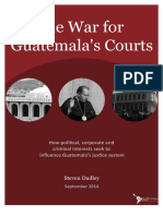 The War for Guatemalas Courts