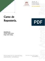 Curso de Repostería 2011