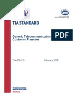 Generic Telecommunications Cabling for Customer Premises
