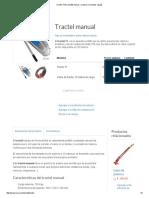 T7 Tractel Tirfor Portátil_ Tensar, Arrastrar y Levantar Cargas CARACTERISTICAS