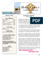 church bulletin 1-3-2016