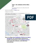 Attaques à Paris. Les Rumeurs Et Les Intox Qui Circulent