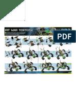 Pit War Tortoise Instructions