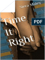 Time It Right - Maley, Siera