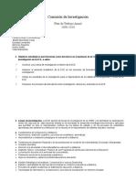 Comision de Investigacion09-10 Plan Trab