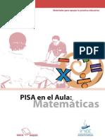 Pisa en El Aula Matemáticas