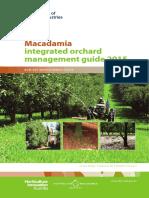 Manejo Integrado de Cultivo de Macadamia, Manual en Ingles