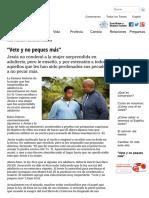 """""""Vete y No Peques Más"""" - Vida, Esperanza y Verdad"""