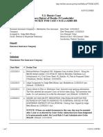 ESURANCE INSURANCE COMPANY v. WESTCHESTER FIRE INSURANCE COMPANY docket