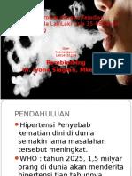 Hubungan Merokok Dengan Kejadian Hipertensi Pada LakiLaki Usia