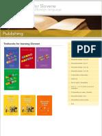 Centre for Slovene - Textbooks