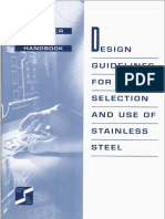 Design Guidelines Selection and Use of Stainless Steel