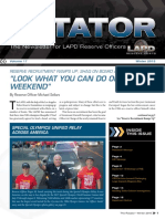 LAPD Reserve Rotator Newsletter Winter 2015