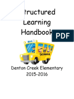 structured learning handbook 2015