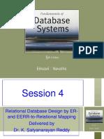 Bits Wase Database Design Session 4