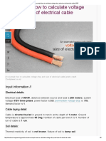 An Example How to Calculate Voltage Drop and Size of Electrical Cable _ EEP