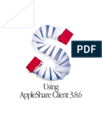 Using AppleShare Client 3.8.6 (Manual)