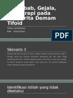 PPT PBL BLOK 12 Demam Tifoid - Yono Suhendro 102013002.Docx