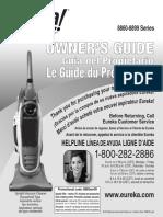 Eureka 8862 Vacuum_OwnersManual