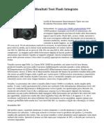 Canon EOS 1200D Risultati Test Flash Integrato