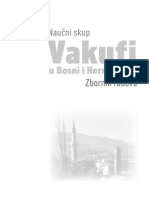 Vakufi u Bosni i Hercegovini - Zbornik Radova