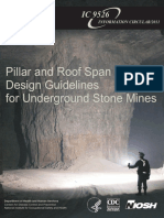 Pillar & Roof Span Guidelines