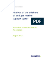 DAE Analysis Offshore Oilandgas Marine Support Sector Final