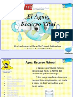 Agua Recurso Vital