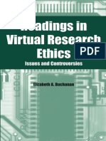 Readings in Virtual Research Ethics