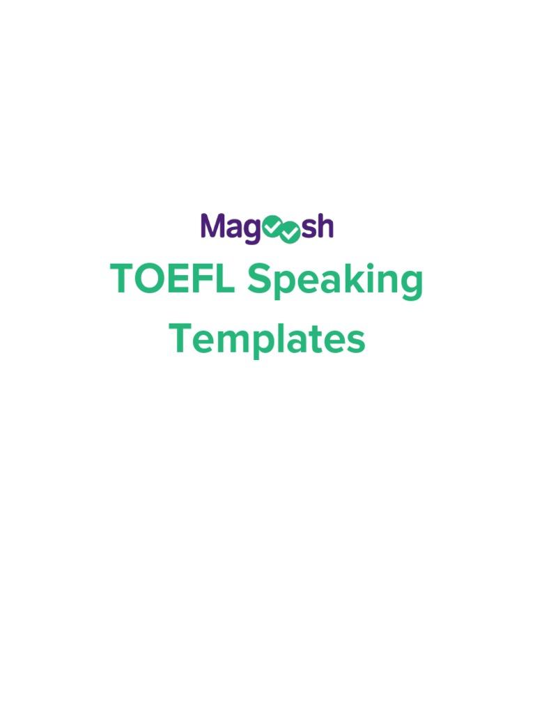 Speaking Templates Stress Linguistics English Language