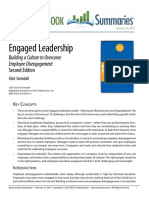 Engaged Leadership Summary