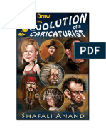 Evolution of a Caricaturist How to Draw Caricatures Kindle Book Shafali Anand1