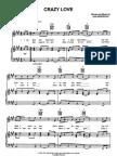 Van Morrison - Sheet Music - Crazy Love
