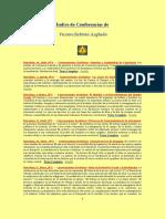 Índice de Conferencias - Vicente Beltrán Anglada