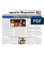 December 30 2015 - January 5, 2016  Sports Reporter