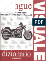 DK 5 Languages Visual Dictionary English, Spanish,French,German,Italian (Kiwi260)
