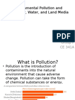 Environmental Pollution and Waste