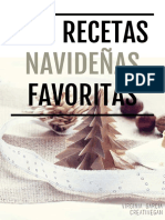 Mis Recetas Navidad Favoritas-CreatiVegan