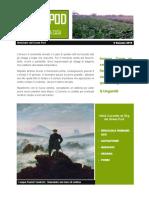 GreenPod Notiziario 5 Gennaio 2015