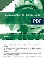 Environmental Recycling Technologies Pls